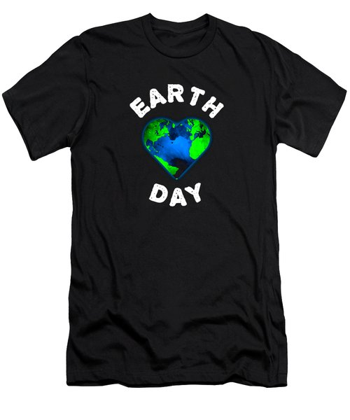 Earth Day Men's T-Shirt (Athletic Fit)