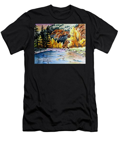 East Clear Creek Men's T-Shirt (Athletic Fit)