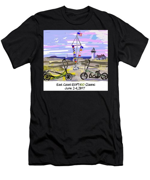 East Coast Elliptigo Classic Men's T-Shirt (Athletic Fit)