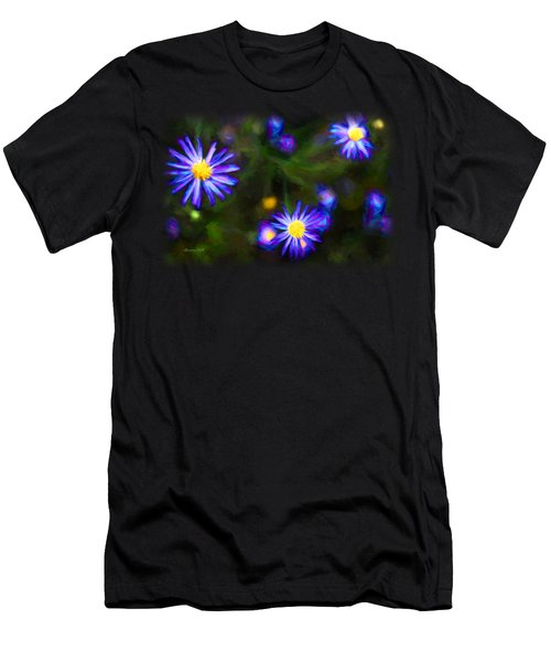 Electric Wildflower Men's T-Shirt (Athletic Fit)