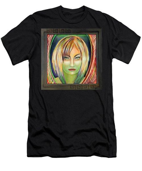 Emerald Girl Men's T-Shirt (Athletic Fit)