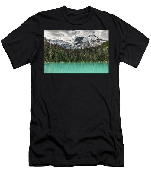 Men's T-Shirt (Athletic Fit) featuring the photograph Emerald Reflection by Pierre Leclerc Photography
