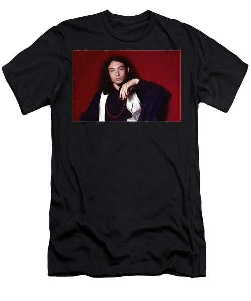 Ezra Miller Poster Men's T-Shirt (Slim Fit) by Best Actors