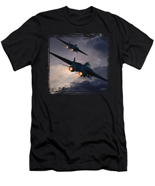 F-14 Flying Iron Men's T-Shirt (Athletic Fit)