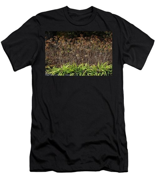 Men's T-Shirt (Slim Fit) featuring the photograph Fall Contrasts by Deborah  Crew-Johnson