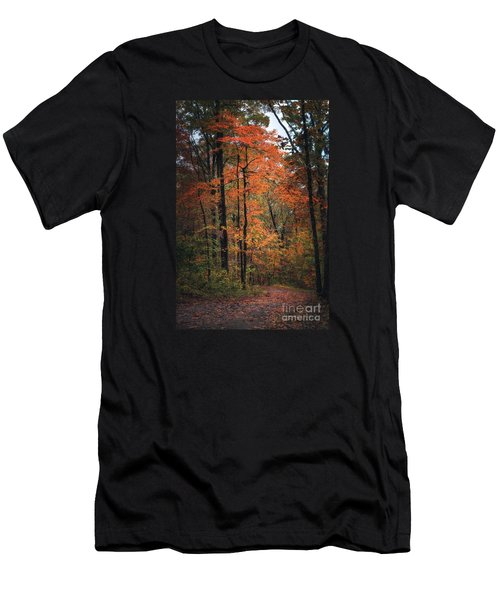 Fall In Arkansas Men's T-Shirt (Athletic Fit)