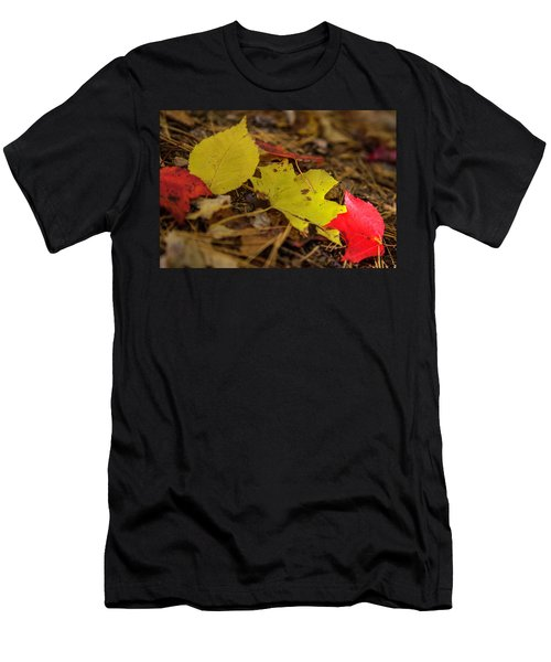 Fall In New Hampshire Men's T-Shirt (Athletic Fit)