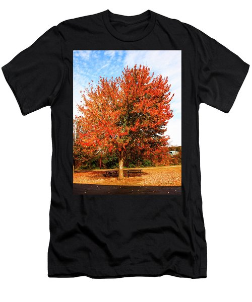 Fall Time Men's T-Shirt (Athletic Fit)