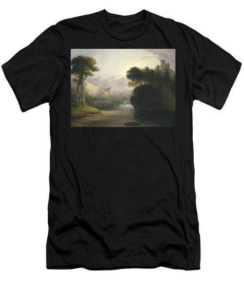 Fanciful Landscape Men's T-Shirt (Athletic Fit)