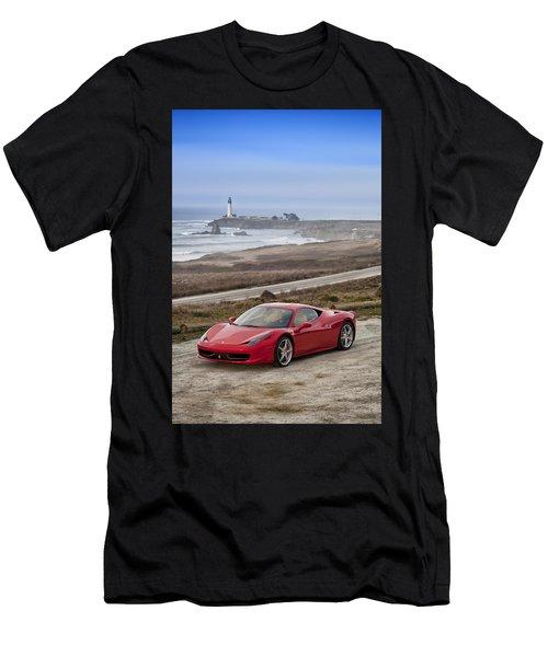 Ferrari 458 Italia Men's T-Shirt (Athletic Fit)