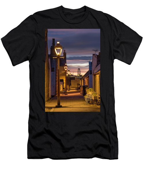 Fittie At Night Men's T-Shirt (Athletic Fit)