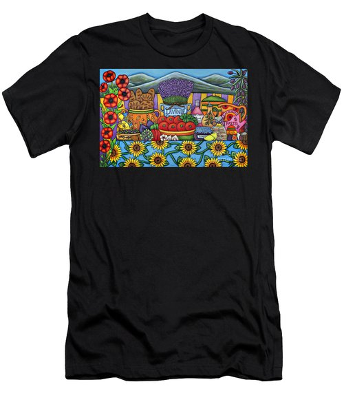 Flavours Of Provence Men's T-Shirt (Athletic Fit)