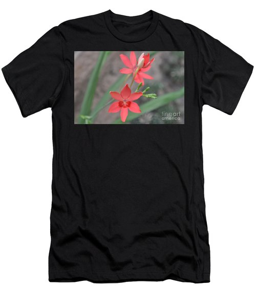 Floating Orchid Men's T-Shirt (Athletic Fit)