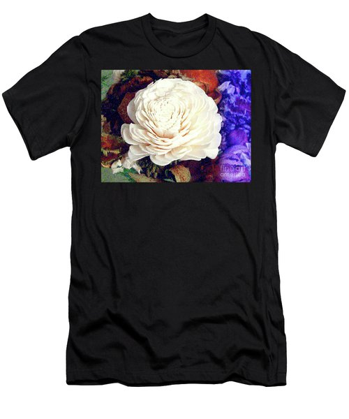 Men's T-Shirt (Athletic Fit) featuring the photograph Floral Potpourri by Merton Allen