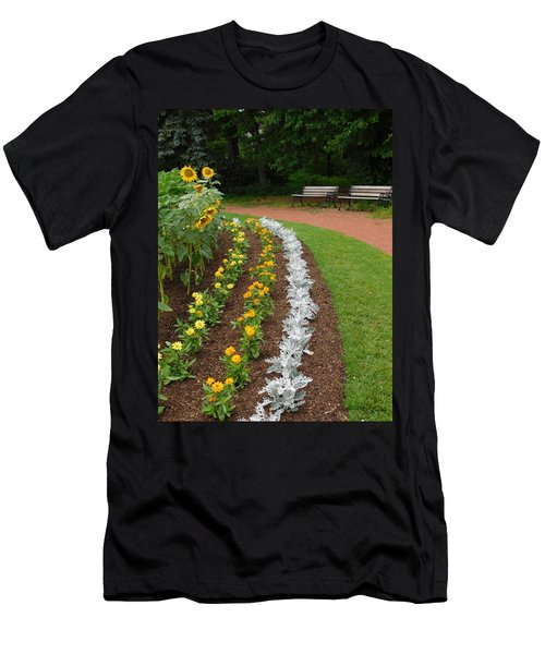 Flower Bed  Men's T-Shirt (Athletic Fit)