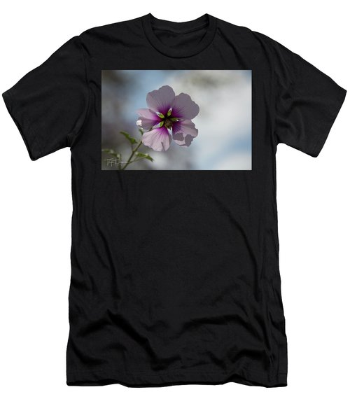 Flower In Focus Men's T-Shirt (Athletic Fit)