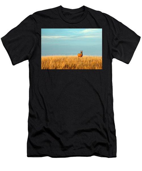 Fort Peck Buck Men's T-Shirt (Athletic Fit)