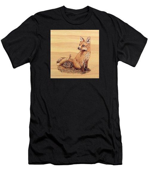 Fox Men's T-Shirt (Slim Fit) by Ron Haist