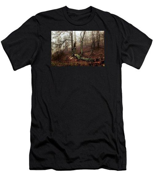 Fractured In Fog Men's T-Shirt (Athletic Fit)