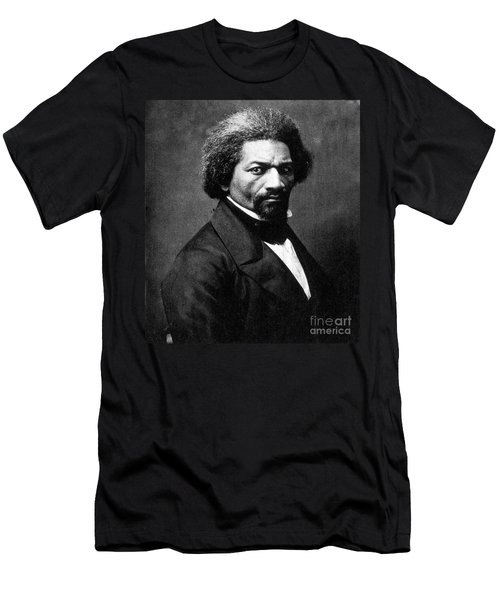 Frederick Douglass Men's T-Shirt (Athletic Fit)