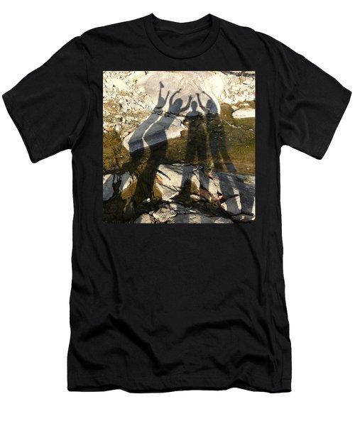 Friends Men's T-Shirt (Slim Fit) by Julie Niemela