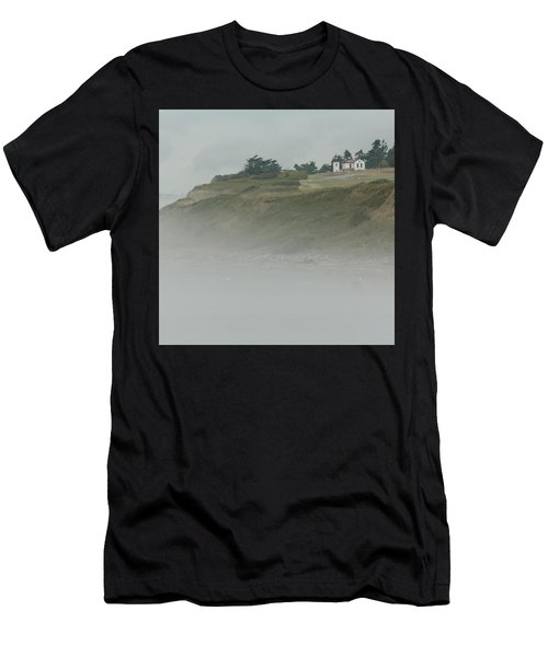 Ft. Casey Lighthouse Men's T-Shirt (Athletic Fit)
