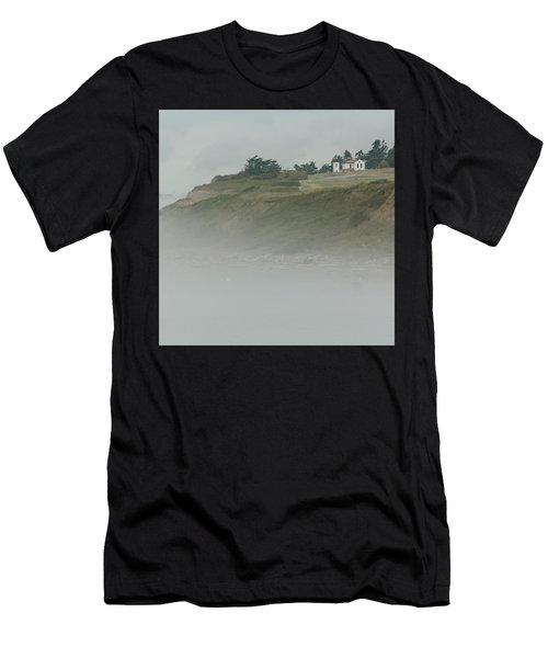 Ft. Casey Lighthouse Men's T-Shirt (Athletic Fit)