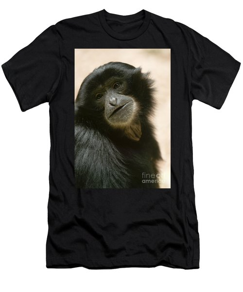 Funky Gibbon Men's T-Shirt (Athletic Fit)