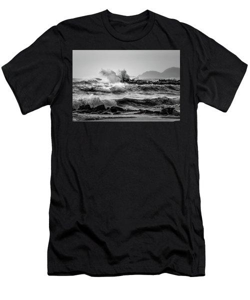 Winter Sea Men's T-Shirt (Athletic Fit)