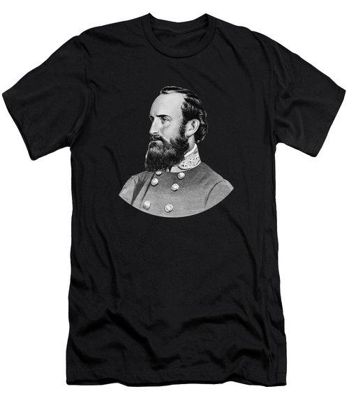 General Stonewall Jackson - Five Men's T-Shirt (Athletic Fit)