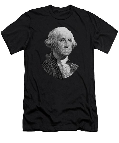 George Washington Graphic Four Men's T-Shirt (Athletic Fit)