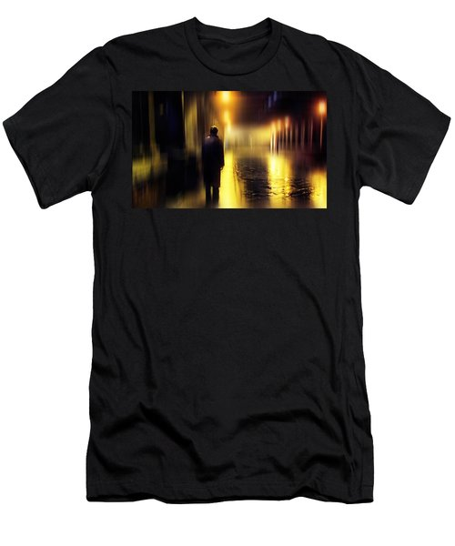 Ghost Of Love  Men's T-Shirt (Athletic Fit)