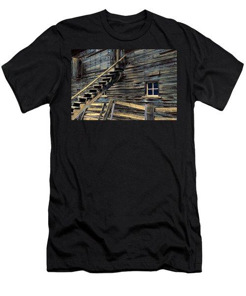 Golden Barn  Men's T-Shirt (Athletic Fit)