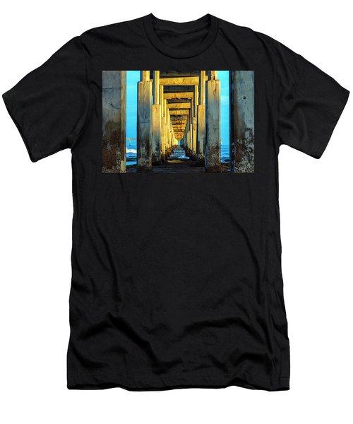 Golden Morning Men's T-Shirt (Slim Fit) by Joseph S Giacalone