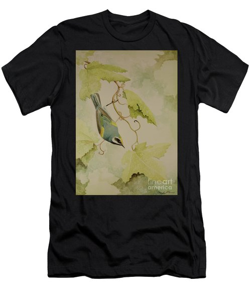 Golden-winged Warbler Men's T-Shirt (Athletic Fit)