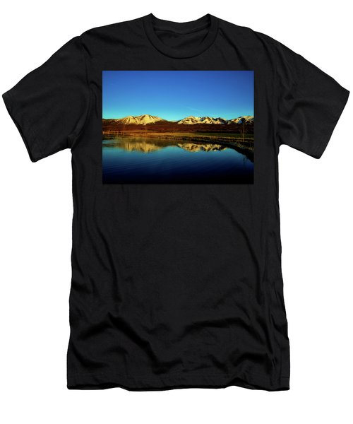 Good Morning Colorado Men's T-Shirt (Slim Fit) by L O C