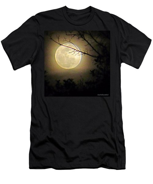 #goodnight #moon And Extra Sweet Men's T-Shirt (Athletic Fit)
