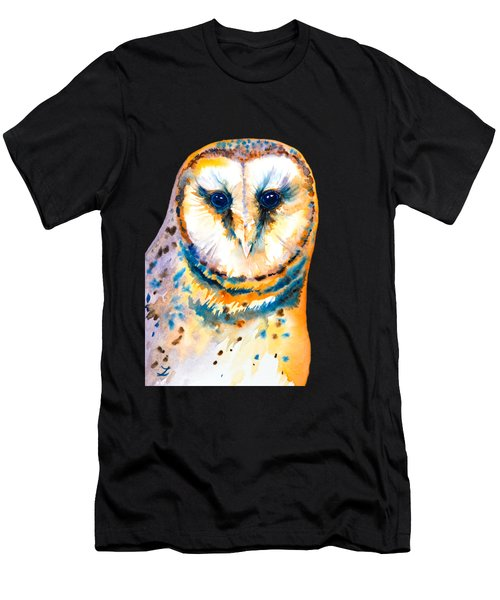 Gorgeous Barn Owl Men's T-Shirt (Athletic Fit)