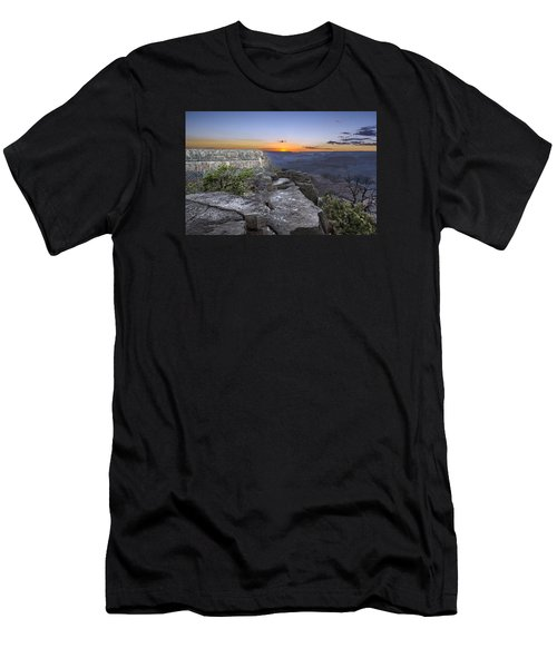 Grand Canyon Sunset Men's T-Shirt (Athletic Fit)
