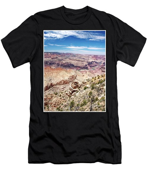 Grand Canyon View From The South Rim, Arizona Men's T-Shirt (Athletic Fit)