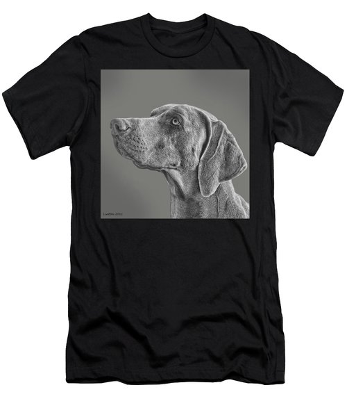 Gray Ghost Men's T-Shirt (Athletic Fit)