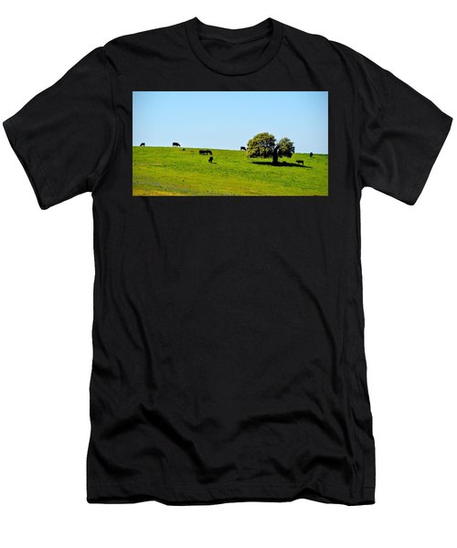 Grazing In The Grass Men's T-Shirt (Athletic Fit)