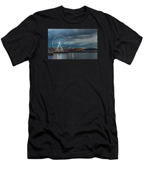 Great Wheel Men's T-Shirt (Athletic Fit)