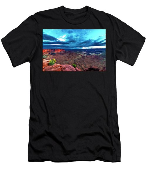 Green River Overlook Men's T-Shirt (Athletic Fit)