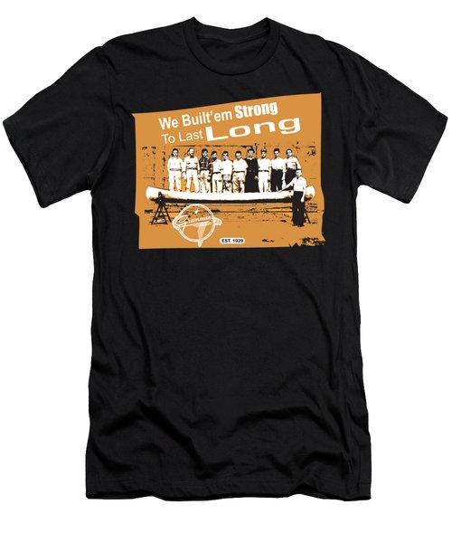 Grumman Canoe Men's T-Shirt (Athletic Fit)