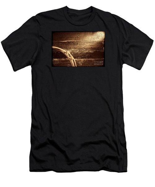 Grunge Lasso  Men's T-Shirt (Athletic Fit)