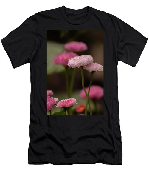 Men's T-Shirt (Athletic Fit) featuring the photograph Habanera English Daisy by Brenda Jacobs