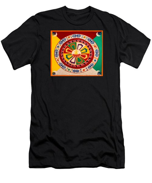 Happiness And Inner Peace Men's T-Shirt (Athletic Fit)
