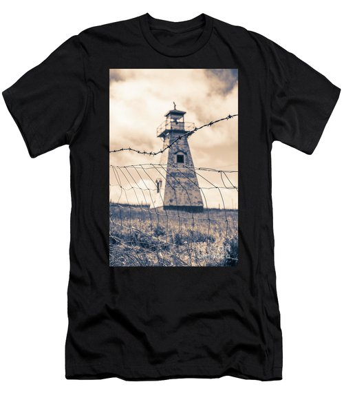 Haunted Lighthouse Men's T-Shirt (Athletic Fit)