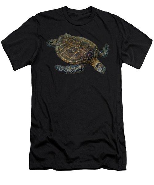 Hawaiian Sea Turtle Men's T-Shirt (Athletic Fit)